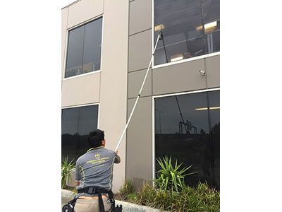 Hi Vis Window Cleaning