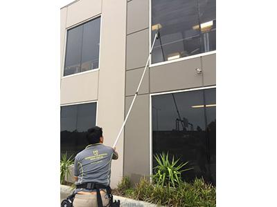 Hi Vis Window Cleaning